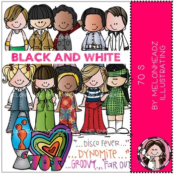 Melonheadz: 70s BLACK AND WHITE