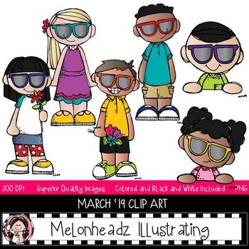 Melonheadz Addicts clip art - March 2019 set - Mini - Melonheadz Clipart