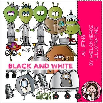 Melonheadz: Aliens BLACK AND WHITE
