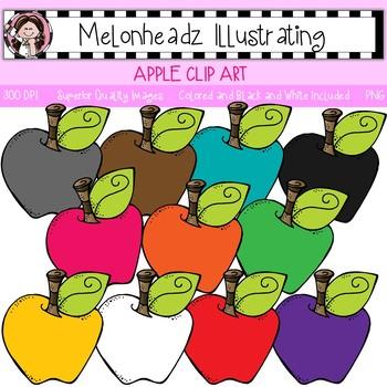 Apple clip art - Single Image - by Melonheadz