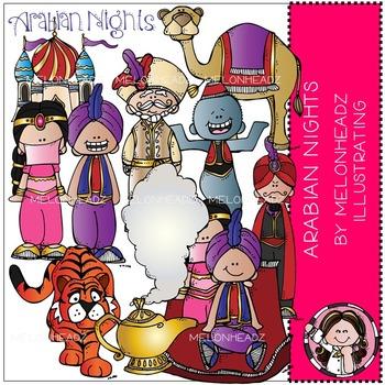 Arabian Nights clip art - COMBO PACK - by Melonheadz