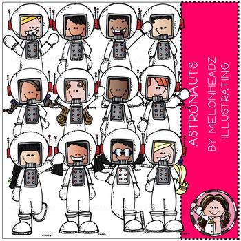 Melonheadz: Astronauts clip art - Combo Pack