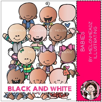 Melonheadz: Babies BLACK AND WHITE