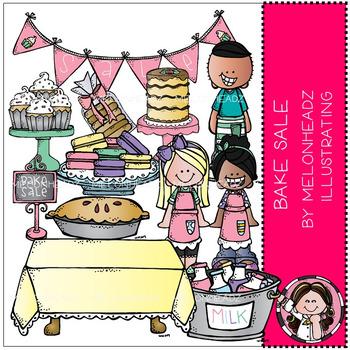 Melonheadz: Bake Sale clip art