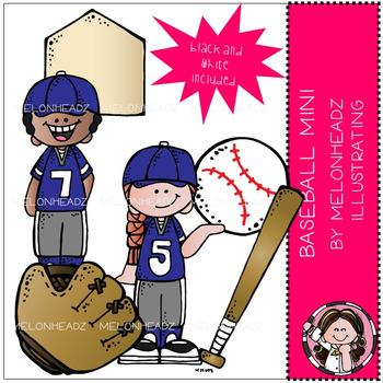Baseball clip art - Mini - by Melonheadz