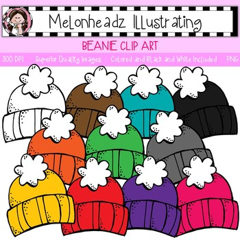 Melonheadz: Beanie clip art - Single Image