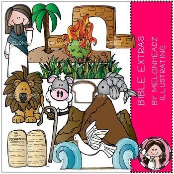 Bible clip art - Extras - COMBO PACK - by Melonheadz