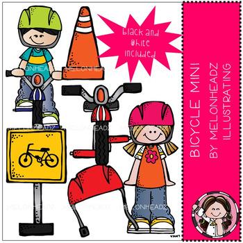 Melonheadz: Bicycle clip art Mini Set