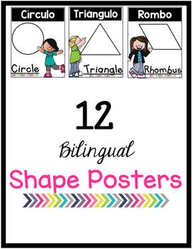 Melonheadz Bilingual Shape Posters