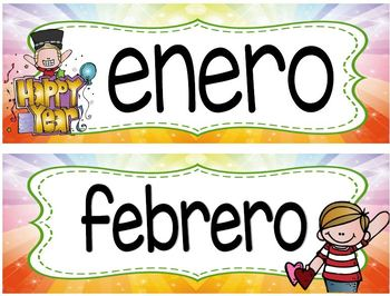 Melonheadz Bilingual calendar 24 x 20