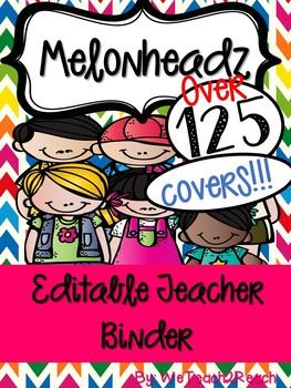 Melonheadz Binder Covers! Over 120 titles