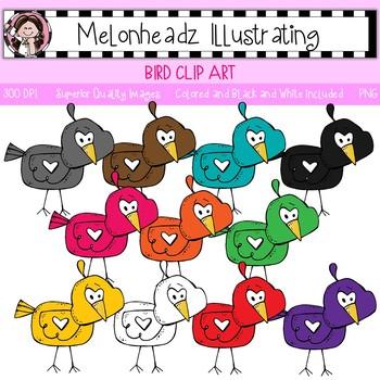 Melonheadz: Bird clip art - Single Image