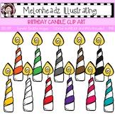 Birthday Candle clip art - Single Image - by Melonheadz
