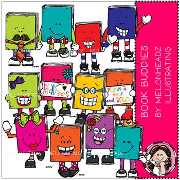 Melonheadz: Book Buddies clip art - COMBO PACK