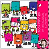 Book Buddies clip art - COMBO PACK - by Melonheadz