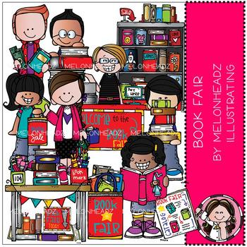 Melonheadz: Book Fair clip art - COMBO PACK