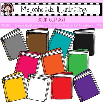 Melonheadz: Book clip art - Single Image