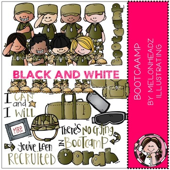 Melonheadz: Bootcamp BLACK AND WHITE