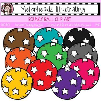 Melonheadz: Bouncy Ball clip art - Single Image