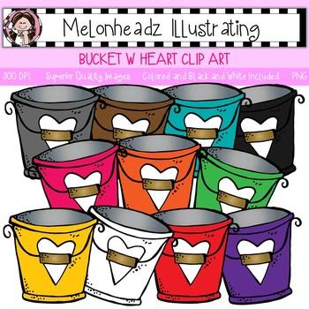 Melonheadz: Bucket clip art - Single Image