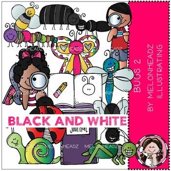 Melonheadz: Bugs 2 BLACK AND WHITE