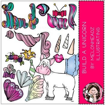 Melonheadz: Build a Unicorn clip art