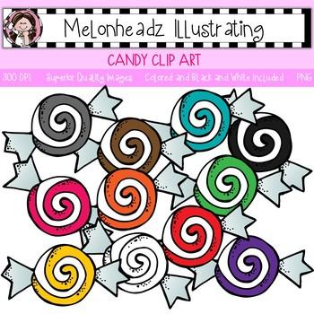 Melonheadz: Candy clip art - Single Image
