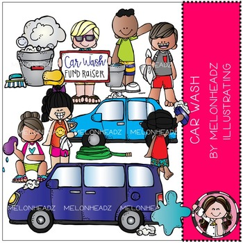 Melonheadz: Car Wash clip art - COMBO PACK