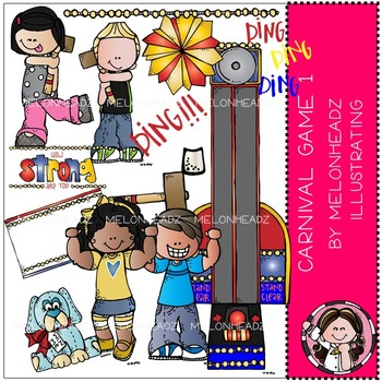 Melonheadz: Carnival Games 1 Clip Art