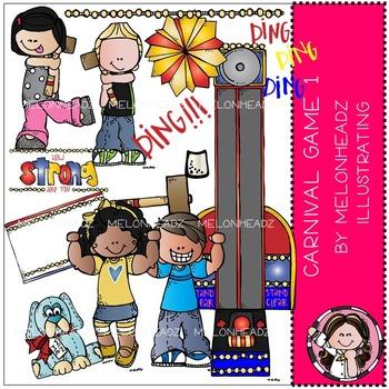 Melonheadz: Carnival Games 1 COMBO PACK Clip Art