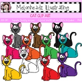 Cat clip art - Single Image - by Melonheadz