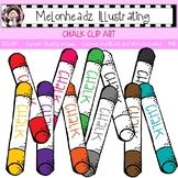 Melonheadz: Chalk clip art - Single Image