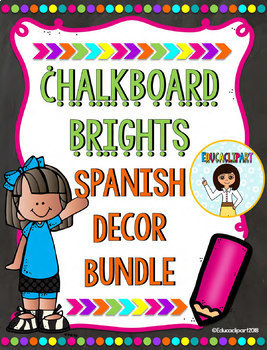 Melonheadz Chalkboard Brights - Bundle II (Spanish)