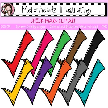 Melonheadz: Check Mark clip art - Single Image