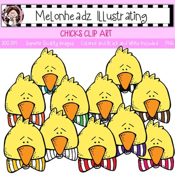 Chick clip art - Single Image - by Melonheadz