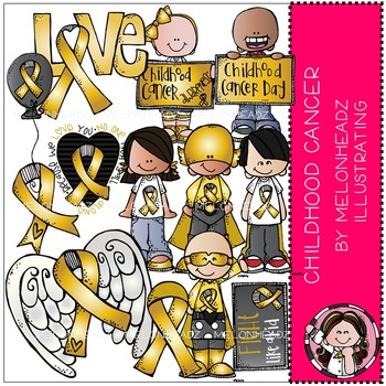 Melonheadz: Childhood Cancer Awareness COMBO PACK