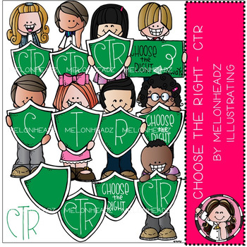 Choose the right clip art -  LDS - COMBO PACK - by Melonheadz