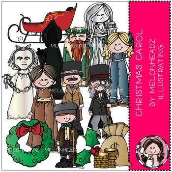 A Christmas Carol clip art - COMBO PACK - by Melonheadz