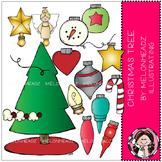 Christmas Tree clip art - COMBO PACK - by Melonheadz