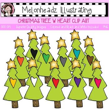 Melonheadz: Christmas Tree clip art - Single Image