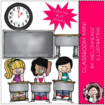 Melonheadz: Classroom clip art Mini Set