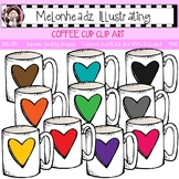 Coffee Cup clip art - Single Image - by Melonheadz