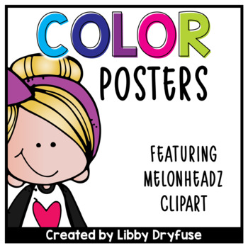 Melonheadz Color Posters