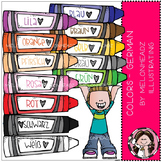 Colors clip art - German - COMBO PACK - by Melonheadz