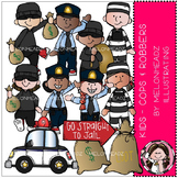 Cops and Robbers clip art - Kids - Combo Pack - by Melonheadz