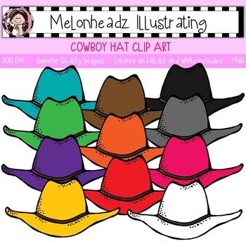 Melonheadz: Cowboy Hat clip art - Single Image