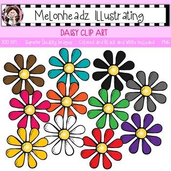 Daisy clip art - Single Image - by Melonheadz