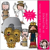 Daniel and the Lion's Den clip art - Bible - Mini - by Melonheadz