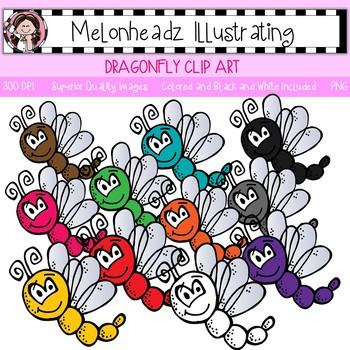 Melonheadz: Dragonfly clip art - Single Image