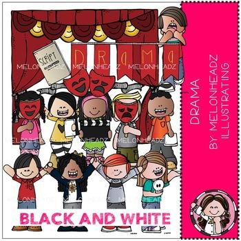 Melonheadz: Drama BLACK AND WHITE